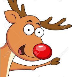 funny cartoon reindeer clipart reindeer rudolph [ 900 x 1234 Pixel ]