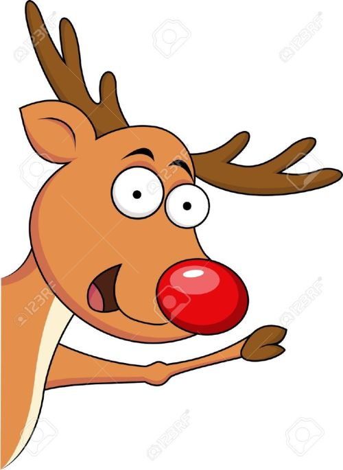 small resolution of funny cartoon reindeer clipart reindeer rudolph