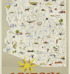 state of arizona poster clipart grand canyon national park allposters com [ 900 x 1347 Pixel ]