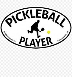 pickleball player 2 rectangle car magnet clipart car logo brand [ 900 x 900 Pixel ]