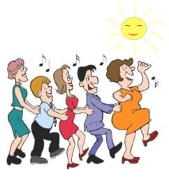 line dancing clipart line dance archdales social club [ 900 x 900 Pixel ]