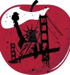 big apple clipart statue of liberty royalty free [ 900 x 878 Pixel ]