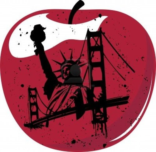 small resolution of big apple clipart statue of liberty royalty free