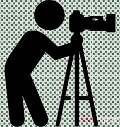 photographer icon clipart photographic film camera operator [ 900 x 900 Pixel ]