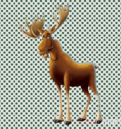 moose clipart moose reindeer clip art [ 900 x 900 Pixel ]