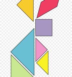 tangram bunny clipart jigsaw puzzles tangram [ 900 x 1360 Pixel ]