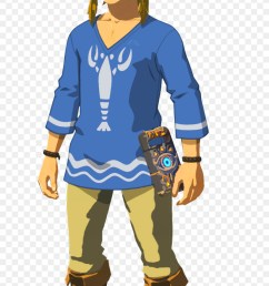 breath of the wild lobster shirt clipart the champions ballad the legend of zelda  [ 900 x 1740 Pixel ]