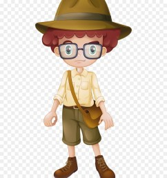 safari boy clipart stock photography royalty free [ 900 x 1040 Pixel ]