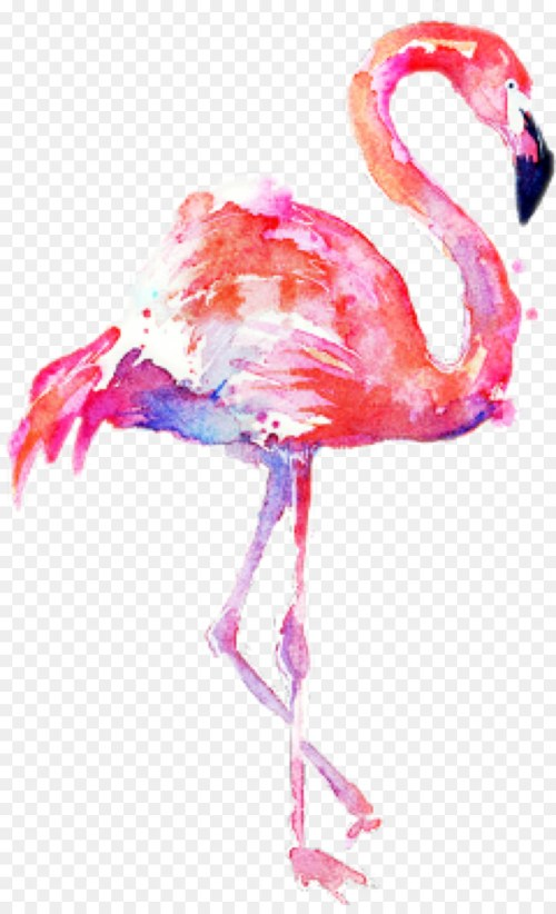 small resolution of flamingo png acuarela clipart watercolor painting flamingos