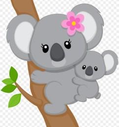 baby koala clipart baby koala bear [ 900 x 1260 Pixel ]