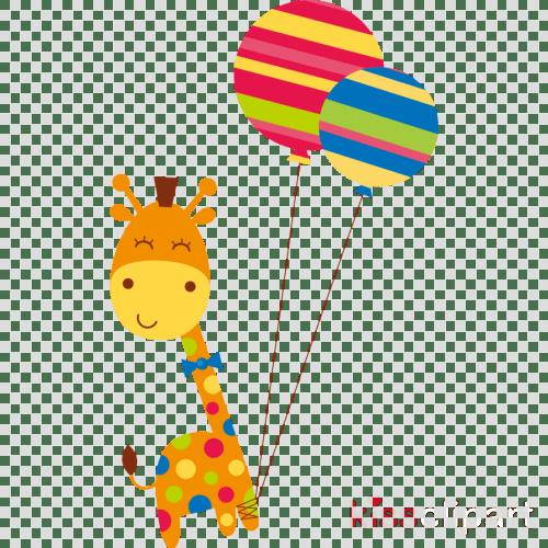small resolution of birthday giraffe clipart giraffe greeting note cards
