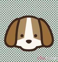 cute dog clipart puppy siberian husky labrador retriever [ 900 x 900 Pixel ]