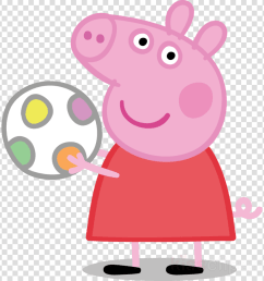 peppa discovery kids clipart daddy pig george pig television [ 900 x 900 Pixel ]