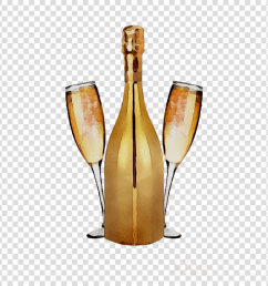 champagne clipart champagne wine glass bottle [ 900 x 900 Pixel ]
