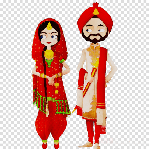small resolution of indian bride and groom cartoons png clipart wedding invitation india bride