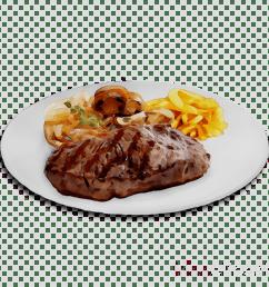 fried food clipart sirloin steak rib eye steak [ 900 x 900 Pixel ]