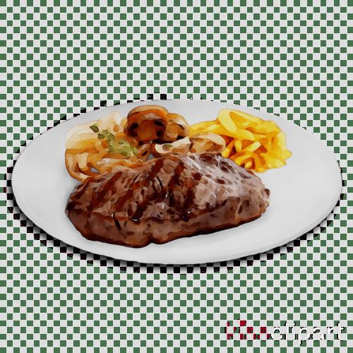 small resolution of fried food clipart sirloin steak rib eye steak