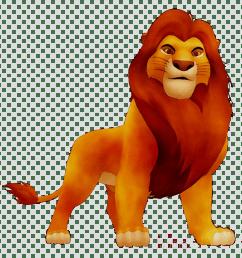 detroit lions mufasa simba scar tiger stadium [ 900 x 900 Pixel ]