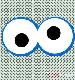 clip art cookie monster biscuits image eye [ 900 x 900 Pixel ]