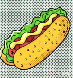 hot dog clip art hamburger portable network graphics junk food [ 900 x 900 Pixel ]