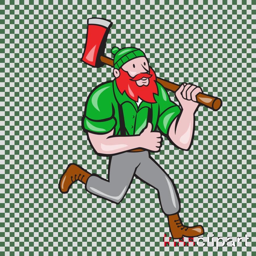 hight resolution of paul bunyan lumberjack vector graphics stock illustration