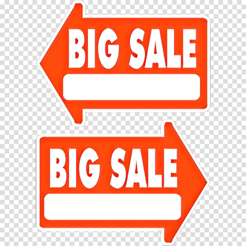 small resolution of sales clip art arrow garage sale product