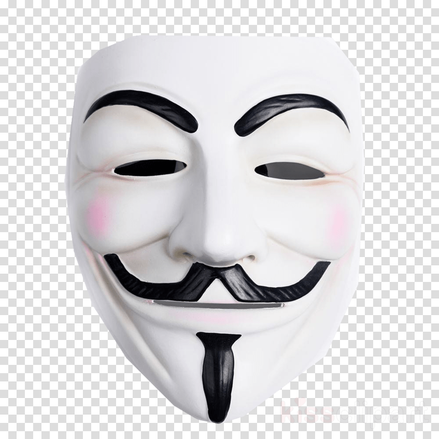 hight resolution of guy fawkes mask masquerade ball costume v