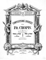 Selected Works. Arrangement for Violin (or Flute) and