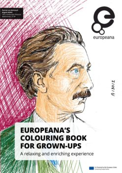 Europeana Colouring Book Cover