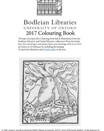 2017 Bodleian Colouring Book 2-cover