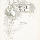 Carnegie Hall Cover