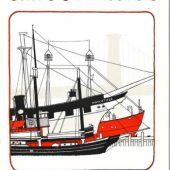 Ships & the River A South Street Coloring Book Guide - Smallest Size-cover
