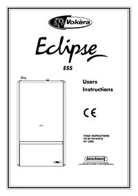 Boiler Manuals: Vokera Eclipse ESS