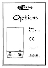 Boiler Manuals: Vokera Option