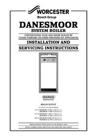 Boiler Manuals: Worcester Danesmoor 15/19 RS Products