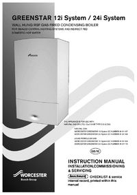 worcester bosch 24i system boiler wiring diagram 2000 chevy s10 tail light manuals greenstar installation and servicing guide view manual
