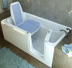 MediTub Walk In Bathtubs Provide A Safe And Relaxing Environment In Your Own Home