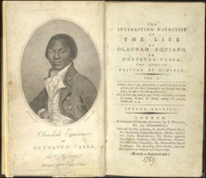 Opening page of 'The Interesting Narrative of The Life of Olaudah Equiano