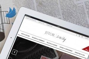 JSTOR DAILY ON IPAD