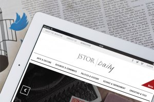 JSTOR DAILY ON IPAD
