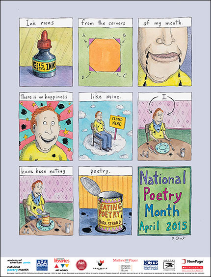 National Poetry Month 2015 poster