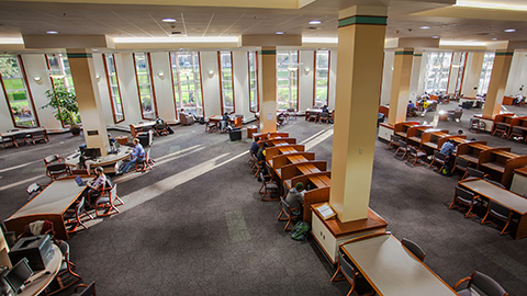Browse Rooms & Study Spaces UO Libraries