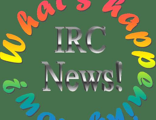 IRC Weekly Schedule Begins TODAY!