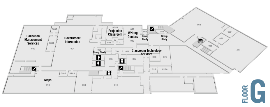 howe library floor plans