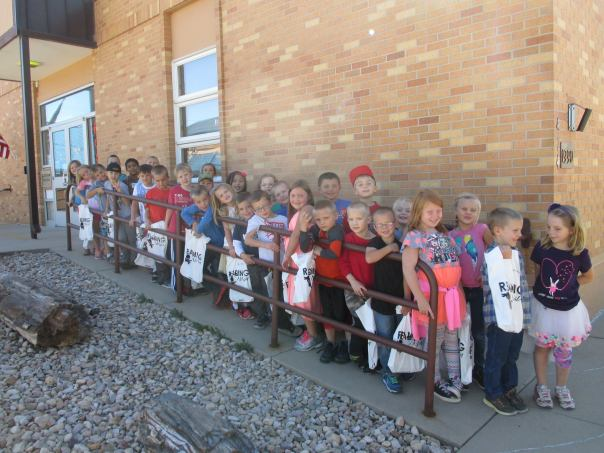 At the Crook County Library, Sundance Elementary 1st graders visited the library and got their very own library cards during Library Card Sign-up Month.