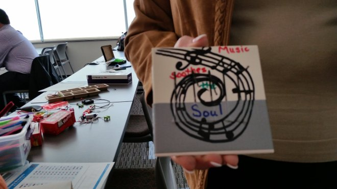 Hands-on fun with thumb pianos in Casper.