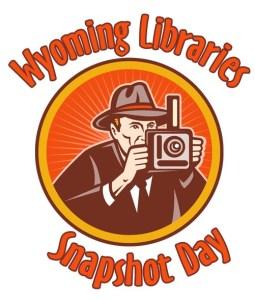 Wyoming Libraries Snapshot Day logo