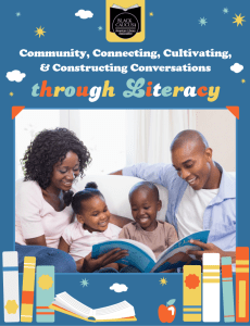 Community, Connecting, Cultivating & Constructing Conversations Through Literacy Reading list document cover