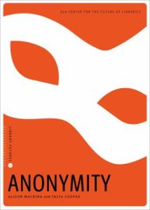 Book cover image: Anonymity
