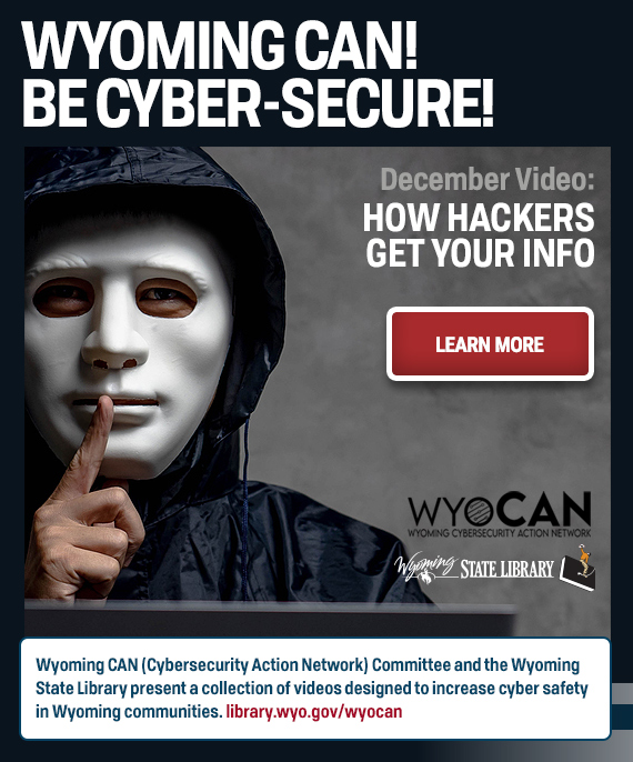 Hacker wearing black hood with text: How Hackers Get Your Info and link to video